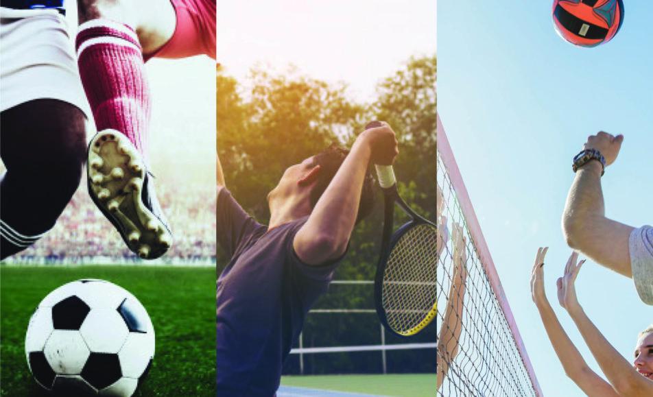 I tre tornei con il mondo del condominio – Calcio – Tennis – Pallavolo