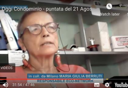 """Giulia Berruti su """"Oggi Condominio"""" – Puntata del 21 Agosto 2020"""