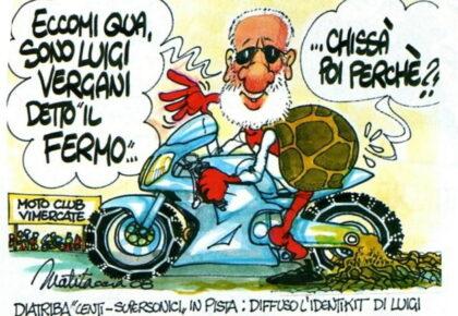 """Luigi Vergani il """"fermo"""" che va in pista"""
