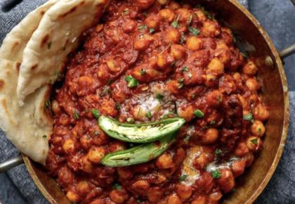La ricetta della suocera indiana: chana masala